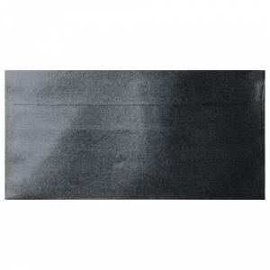 Sobre Americano DL 110x220 - Sobre Perlado negro DL