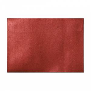 Sobres C5 - 160x220 - Sobre Perlado Rojo c5 (Rojo Cardenal)