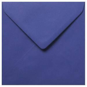Sobres Cuadrados - Sobre azul marino Cuadrado (azul lirio)